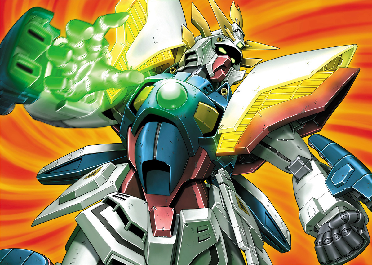 Shining Gundam Gundambuilder